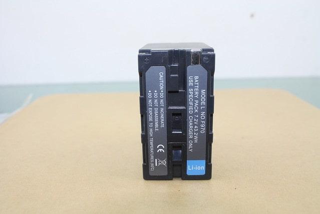 NP-F980/F970 utángyártott akkumulátor