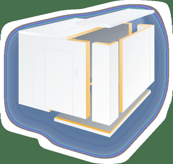 egyedi hűtőkamra építés