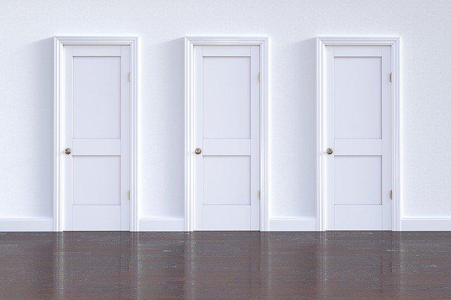 Utólag beépíthető ajtó